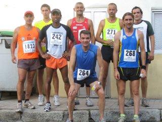 Romario, Mata, Miguel, Tonín, Jorge, 2 que no se quienes son y Rober