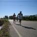 Paulo y Fiur saliendo de Villaverde (aprox km 34)